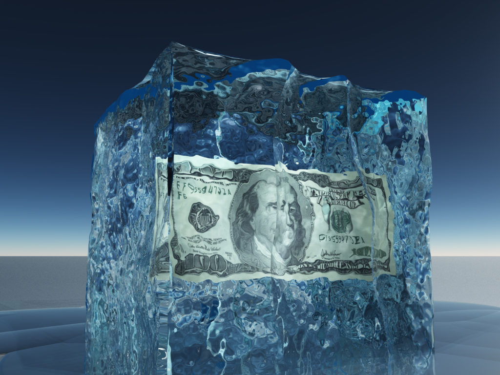 Freezing and unfreezing your credit