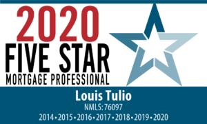 Louis Tulio Five Star Mortgage Professional